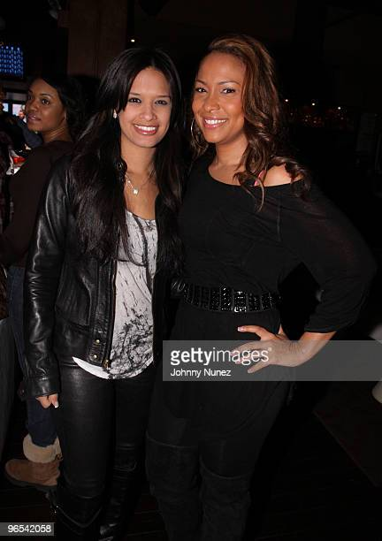 BET '106 Park' host Rocsi and Valeisha Butterfield attend Bottles Strikes Tuesday Celebrity Bowling at Lucky Strike Lanes Lounge on February 9 2010...