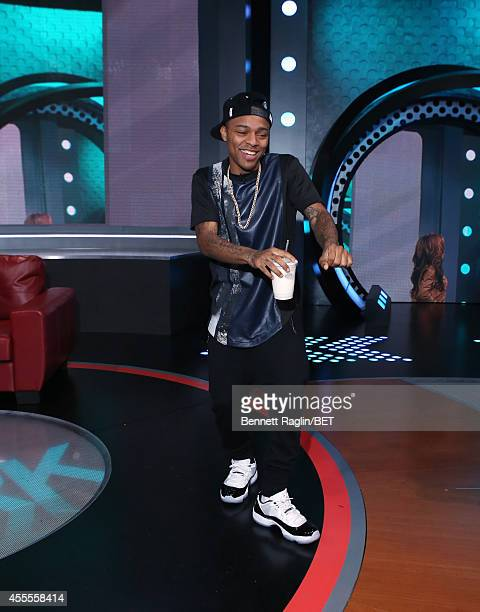 106 Park host Shad Moss attends 106 Park at BET studio on September 15 2014 in New York City