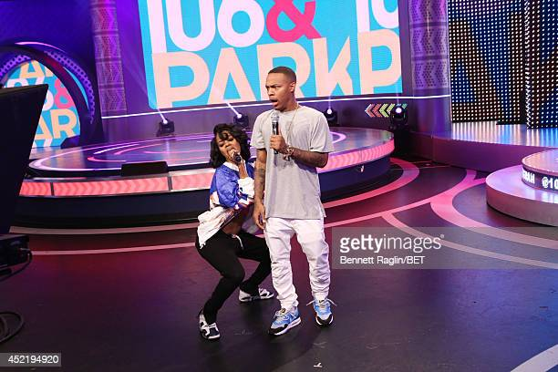 106 Park hosts Teyana Taylor and Bow Wow attend 106 Park at BET studio on July 14 2014 in New York City
