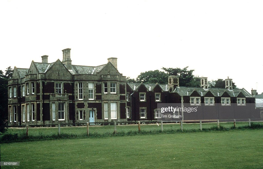 Park House, Sandringham, The Birthplace Of The Princess Of Wales.circa 1980s