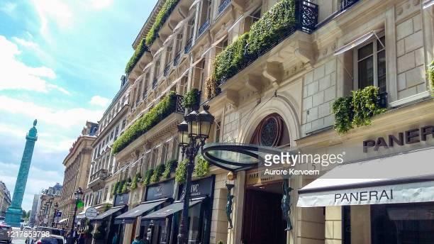パーク ハイアット ヴァンドーム ホテル オペラ クエーター パリ - ヴァンドーム広場 ストックフォトと画像