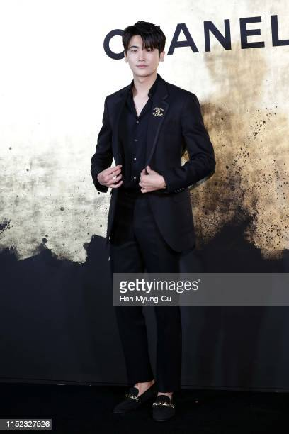 Park HyungSik of South Korean boy band ZEA Five attends the CHANEL ParisNew York 2018'19 Metiers d'Art show on May 28 2019 in Seoul South Korea
