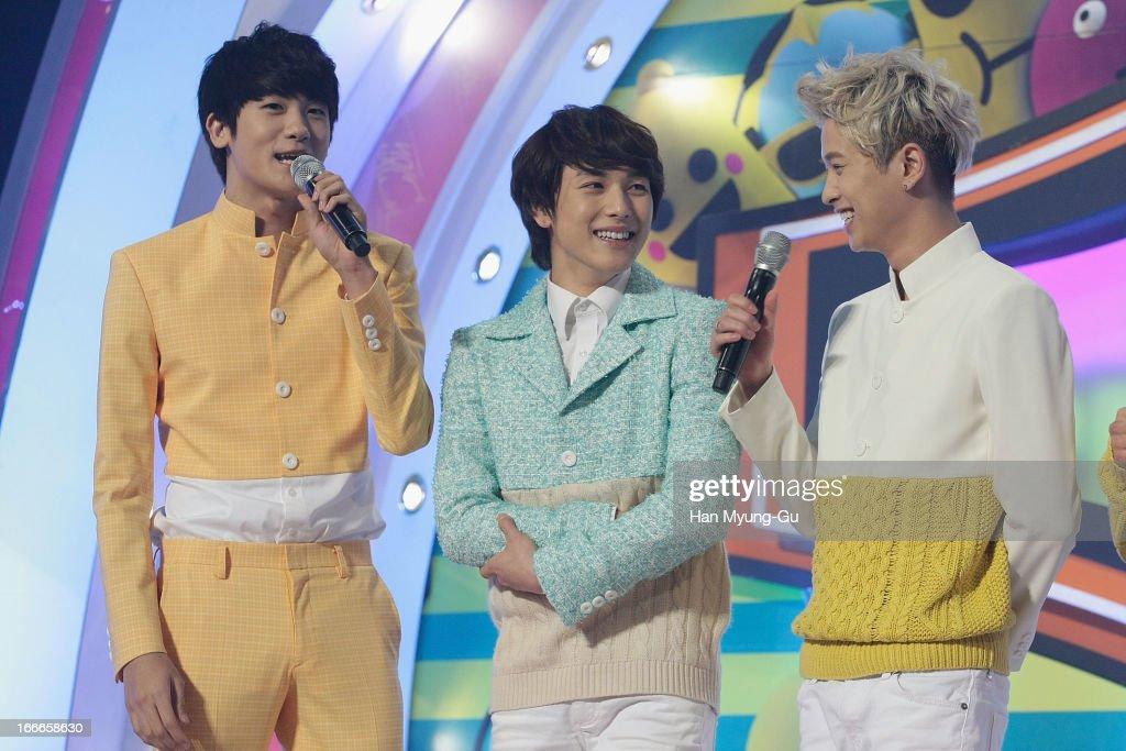 Park Hyung-Sik, Yim Si-Wan and Ha Min-Woo of South Korean