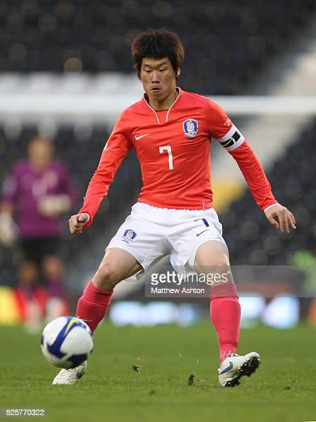 Park Ji Sung of Korea Republic