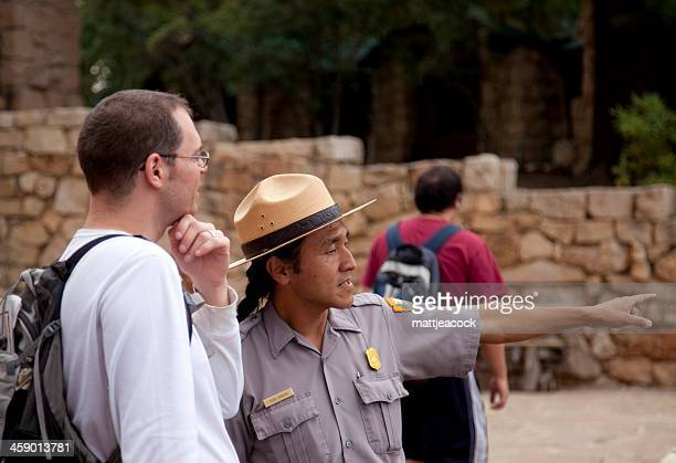 Park ranger at the North Rim Grand Canyon