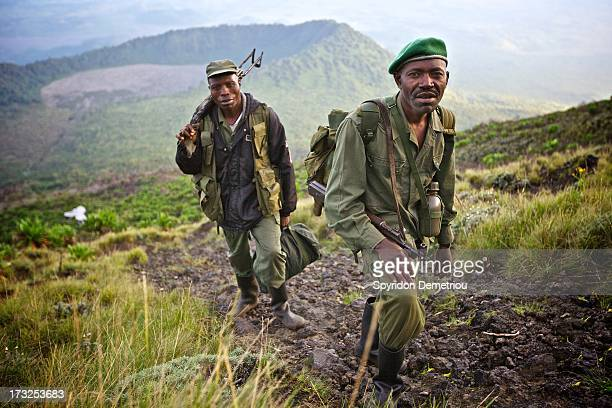 CONTENT] Park rangers on Mount Nyamulagira Democratic Republic of Congo 2010 Park rangers defend huge natural reserves in eastern Congo which often...