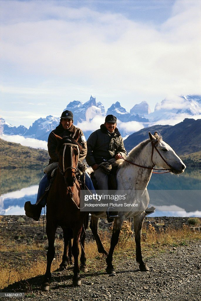 Park Rangers, Torres del Paine National Park, Chile.