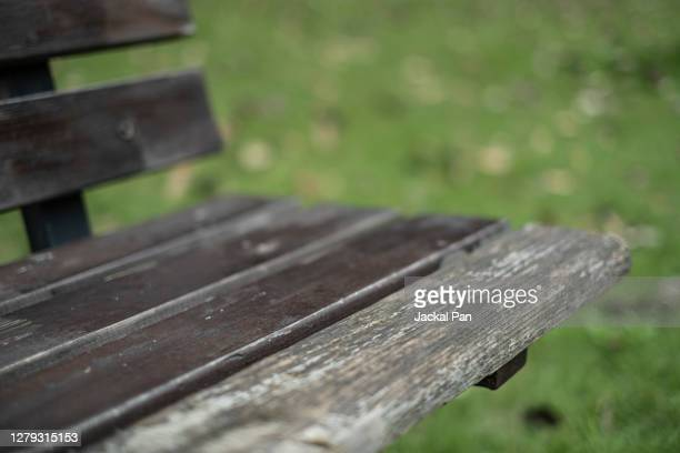park seats - park bench stock pictures, royalty-free photos & images