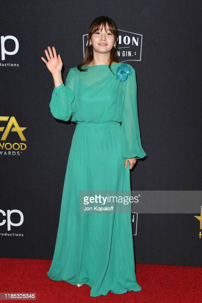 Park Sodam attends the 23rd Annual Hollywood Film Awards at The Beverly Hilton Hotel on November 03 2019 in Beverly Hills California
