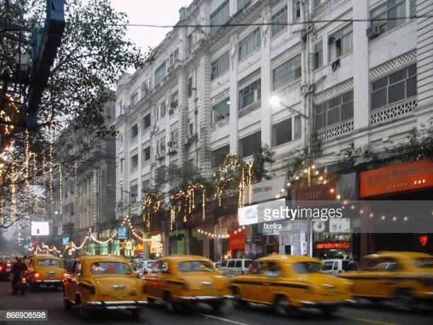 park street, kolkata - kolkata stock pictures, royalty-free photos & images