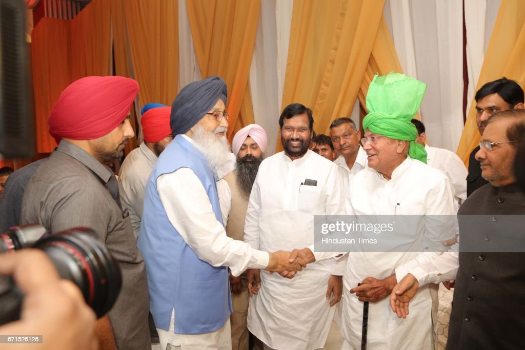 Wedding Reception Of MP Dushyant Chautala With Meghna Ahlawat : News Photo