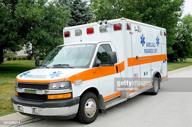 Parked Ambulance