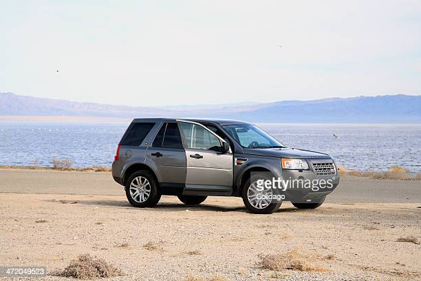 SUV Parked At The Salton Sea