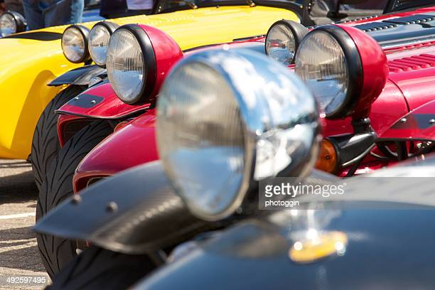 Parked Sports Cars