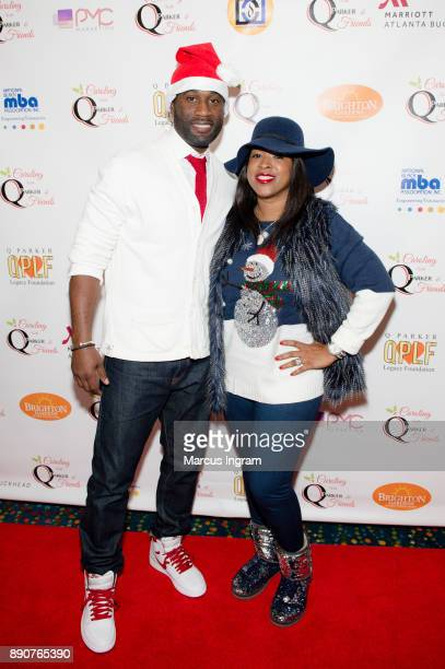 Parker and Sharlinda Parker attend the '5th Annual Caroling with Q Parker and Friends' at Atlanta Marriott Buckhead on December 11 2017 in Atlanta...