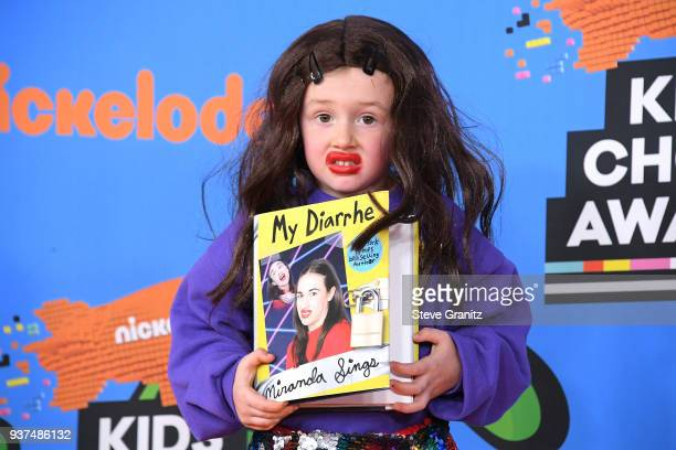 Parker Ballinger attends Nickelodeon's 2018 Kids' Choice Awards at The Forum on March 24 2018 in Inglewood California
