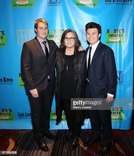 Parker Jaren O'Donnell Rosie O'Donnell and Blake O'Donnell attend the 2017 Rosie's Theater Kids Fall Gala at The New York Marriott Marquis on...