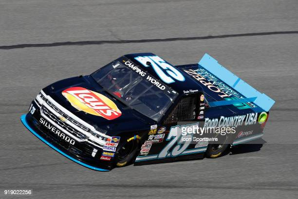 Parker Kligerman Henderson Motorsports Food County USA /Lays/Pepsi/Lopez Wealth Management Chevrolet Silverado during practice for the NextEra Energy...