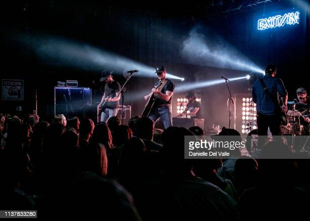 Parker McCollum performs onstage at Exit In on April 17 2019 in Nashville Tennessee