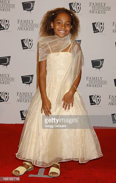 Parker McKenna Posey during '5th Annual Family Television Awards' at Beverly Hilton Hotel in Beverly Hills California United States
