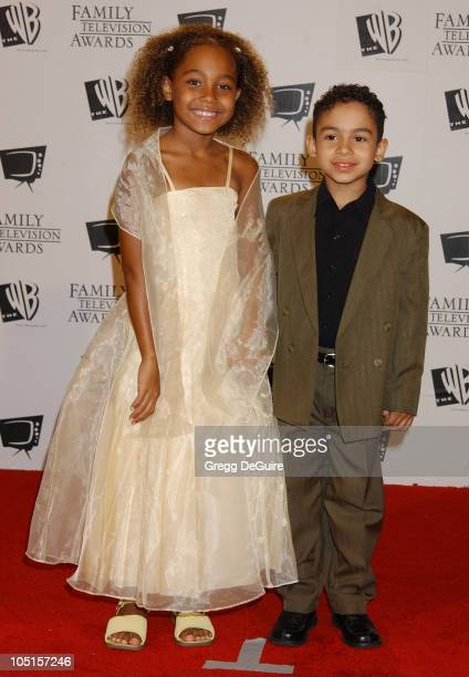 Parker McKenna Posey Noah Gray Cabey during '5th Annual Family Television Awards' at Beverly Hilton Hotel in Beverly Hills California United States