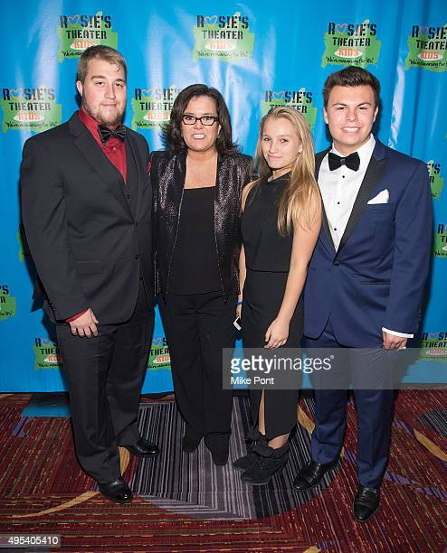Parker O'Donnell Rosie O'Donnell Vivienne O'Donnell and Blake O'Donnell attend Rosie's Theater Kids' 12th Annual Gala Celebration at The New York...