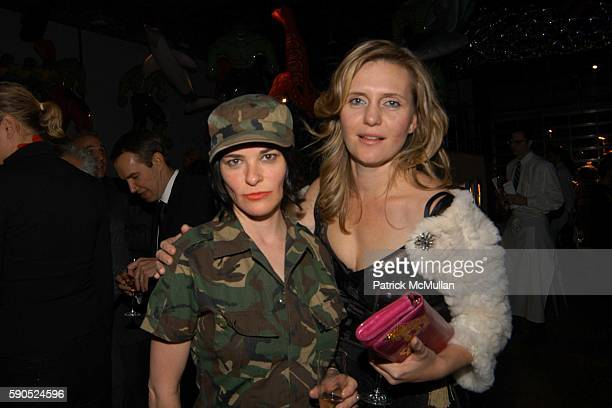 Parker Posey and Justine Koons attend 50th Birthday Celebration for Jeff Koons at Jeffrey Deitch Gallery on January 21 2005 in New York City