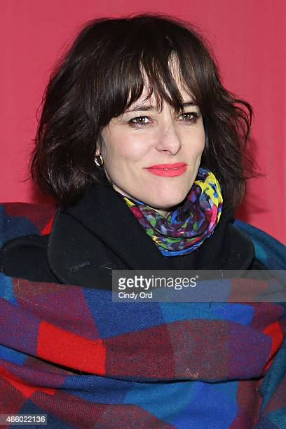 """Parker Posey attends as Champagne Piper-Heidsieck and Rooftop Films present a special preview of Ethan Hawke's new documentary """"Seymour: An..."""