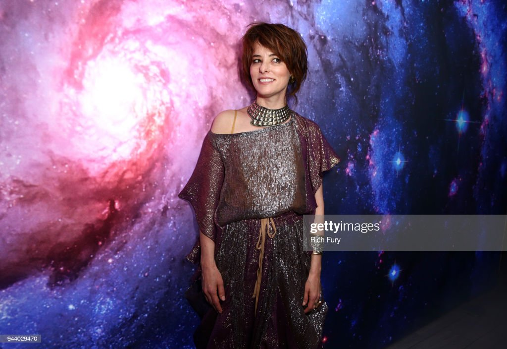 Parker Posey attends Netflix's 'Lost In Space' Los Angeles premiere on April 9, 2018 in Los Angeles, California.
