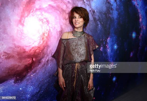Parker Posey attends Netflix's Lost In Space Los Angeles premiere on April 9 2018 in Los Angeles California