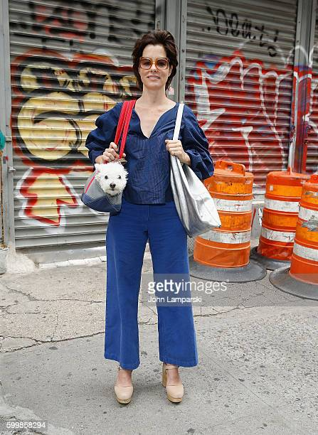 Parker Posey attends Rachel Comey presentation during New York Fashion Week on September 7 2016 in New York City