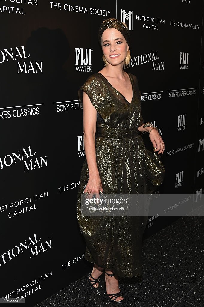 Parker Posey attends Sony Pictures Classics 'Irrational Man' premiere hosted by Fiji Water, Metropolitan Capital Bank and The Cinema Society on July 15, 2015 in New York City.