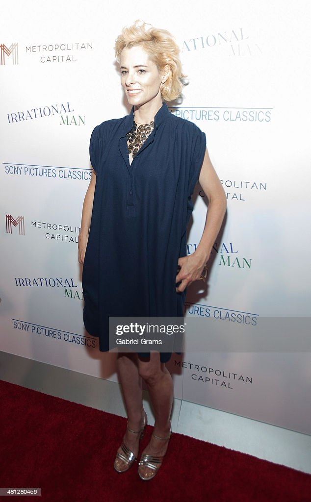 Parker Posey attends the Chicago premiere of 'Irrational Man' at Bellweather Meeting House & Eatery on July 18, 2015 in Chicago, Illinois.
