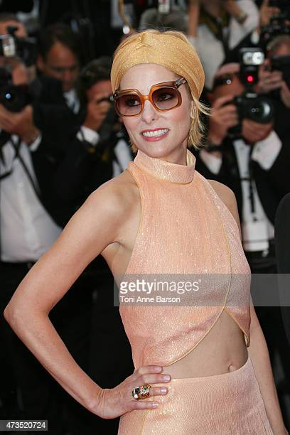 Parker Posey attends the 'Irrational Man' premiere during the 68th annual Cannes Film Festival on May 15 2015 in Cannes France