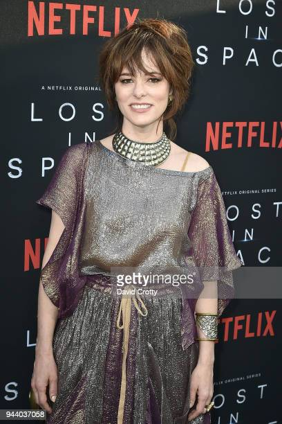 Parker Posey attends the 'Lost In Space' Season 1 Premiere at ArcLight Cinerama Dome on April 9 2018 in Hollywood California