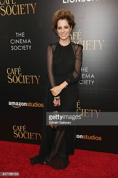 Parker Posey attends the New York premiere of 'Cafe Society' hosted by Amazon Lionsgate with The Cinema Society on July 13 2016 in New York City