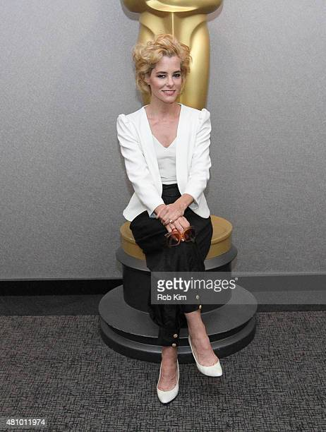 Parker Posey attends the Official Academy Screening of IRRATIONAL MAN hosted by The Academy of Motion Picture Arts and Sciences at The Academy...