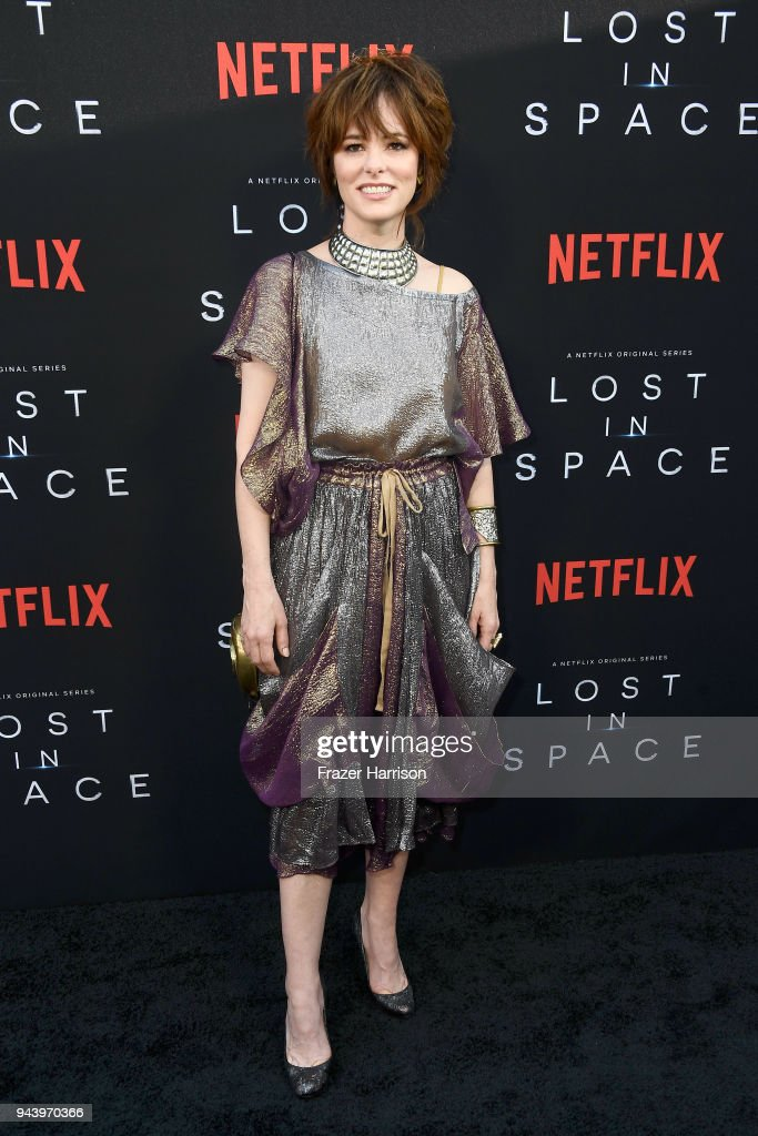 Parker Posey attends the premiere of Netflix's 'Lost In Space' Season 1 at The Cinerama Dome on April 9, 2018 in Los Angeles, California.