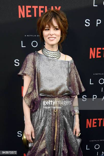 Parker Posey attends the premiere of Netflix's 'Lost In Space' Season 1 at The Cinerama Dome on April 9 2018 in Los Angeles California