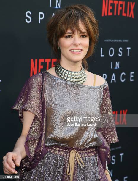 Parker Posey attends the premiere of Netflix's 'Lost In Space' Season 1 on April 9 2018 in Los Angeles California