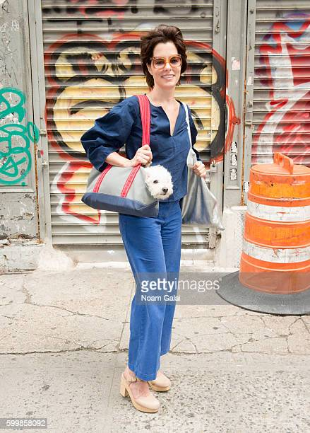 Parker Posey attends the Rachel Comey fashion show during New York Fashion Week September 2016 on September 7 2016 in New York City