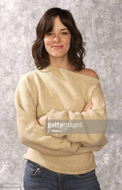 Parker Posey during 2002 Sundance Film Festival 'Personal Velocity' Portraits at Harry O's in Park City Utah United States
