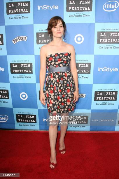 Parker Posey during 2006 Los Angeles Film Festival Opening Night 'The Devil Wears Prada' Premiere at Mann Village Theatre in Westwood California...