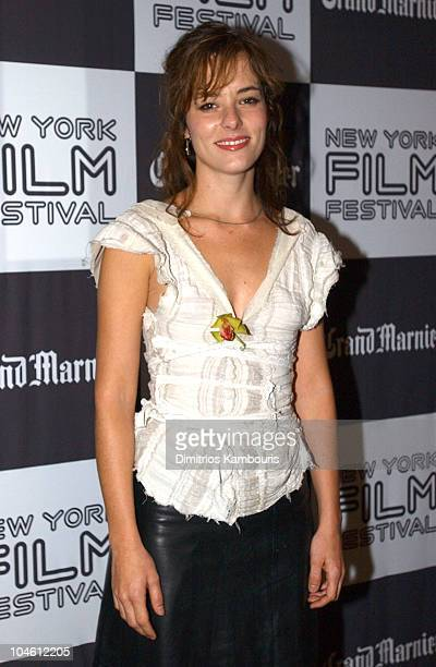 Parker Posey during Closing Night of 40th New York Film Festival 'Talk to Her' US Premiere at Avery Fisher Hall Lincoln Center in New York New York...