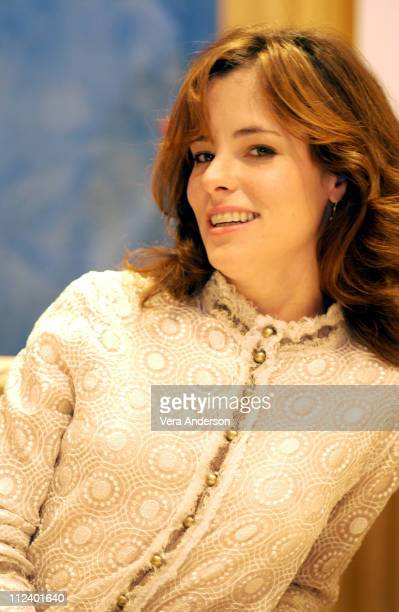 Parker Posey during Hell on Heels The Battle of Mary Kay Press Conference with Parker Posey Shannen Doherty and Shirley MacLaine at The Peninsula...