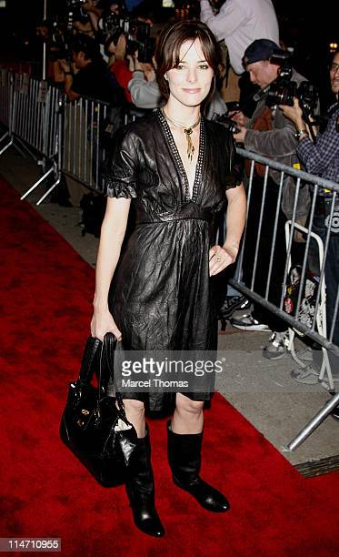 Parker Posey during 'Infamous' New York Premiere Outside Arrivals at Director's Guild Theater in New York City New York United States