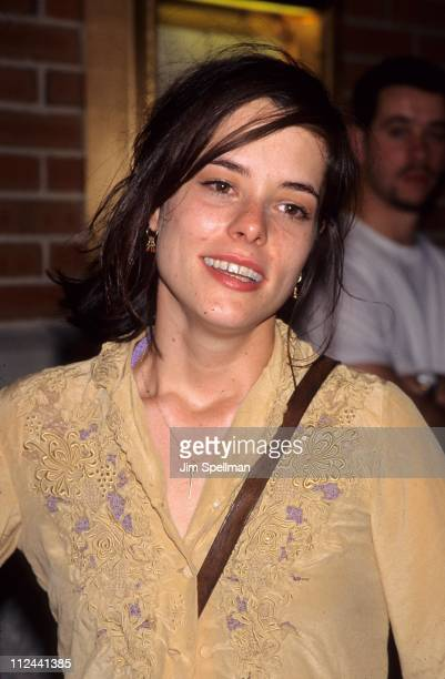 Parker Posey during Oliver Peoples Store Opening at SoHo Grand Hotel in New York City New York United States