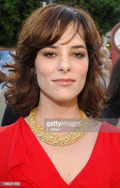 "Parker Posey during World Premiere of ""Superman Returns"" - Red Carpet at Mann Village and Bruin Theaters in Los Angeles, California, United States."
