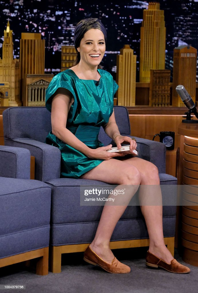 Parker Posey visits 'The Tonight Show Starring Jimmy Fallon' at Rockefeller Center on July 23, 2018 in New York City.