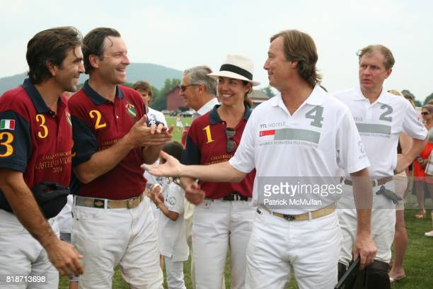 Parker Thorne and Bruce Colley attend The 13th Annual MASHOMACK INTERNATIONAL Polo Challenge presented by HUNTER BOOT at Pine Plains on June 26 2010